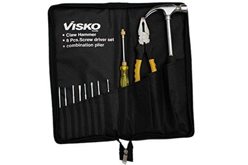 VISKO TOOLS Visko 501 Home Hand Tool Kit (11 Pieces)