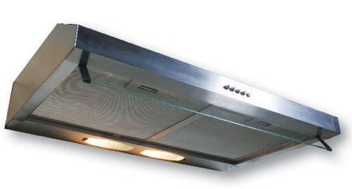 Yosemite Home Decor Bwrd36S Builder Series 36-Inch Undercabinet Hood With 190 Cfm Internal Blower And Incandescent Lighting, Stainless Steel front-386159
