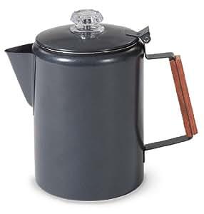 Stansport Black Granite 9 Cup Percolator Coffee Pot