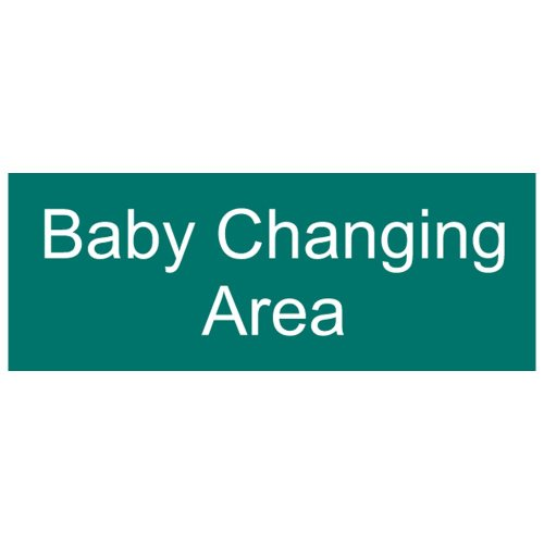 Compliancesigns Engraved Plastic Unisex / Family / Assisted Sign, 8 X 3 Green