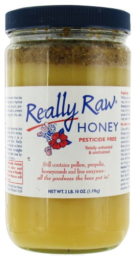 Really Raw Honey, Totally Unprocessed, 2-LB 10 OZ