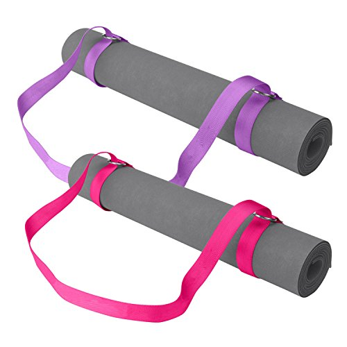 gaiam-easy-cinch-yoga-mat-sling-sold-individually-with-assorted-colors-pink-or-purple