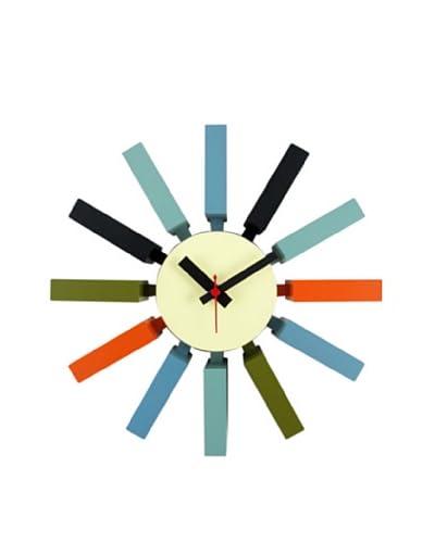 George Nelson Block Clock, Multi