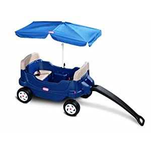 Little Tikes Easy Store Large Picnic Table with Umbrella