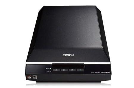 Epson Perfection V550 Photo Scanner à plat  Technologie LED ReadyScan numérisation diapositive et film