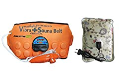 CreativeVia Healthcare A.B 3 in 1 Magnetic Sauna Vibrating With Heating Pad Slimming Belt