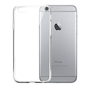 Carcasa y funda para iphone 6s Plus/iphone 6 Plus, Bestwe silicona TPU protectora para iPhone 6s Plus/ iPhone 6 Plus (iPhone 6s Plus/ iPhone 6 Plus, transparente)