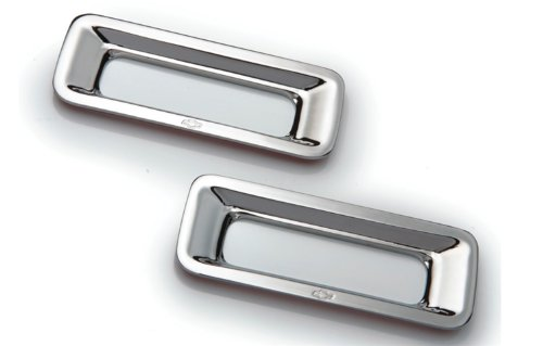 T-Rex 6910122 Defenderworx Chrome Reverse Light Bezel - 2 Piece (2010 Camaro Reverse Light Bezels compare prices)