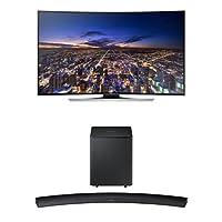 Samsung UN65HU8700 Curved 65-Inch TV with HW-H7500 Curved Soundbar