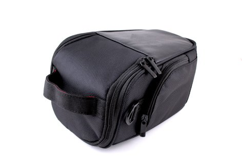 Black PU Leather Camera Case for Canon EOS 700D 650D 600D 550D 500D,1100D 50D 60D 70D,7D SX50 SX500, Nikon D800,D7100, D7000,D5200 D5100,D3200,D3100,FUJI FinePix X-S1,HS30,HS50, S4800,SL1000, OLYMPUS E5E620.Sony Alpha A900,A850,A700,A590,A580,A550,A500,A5