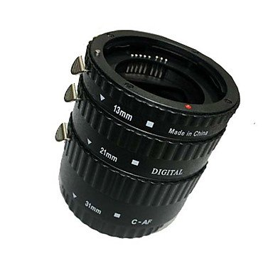 Meike Af Auto Focus Macro Extension Tube Set (Abs) For Canon D-Slr Camera