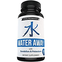 Natural Diuretic Water Pill with Dandelion & Potassium to Lose Water Weight - Relieve Bloating, Swelling & Water Retention With This Premium Herbal Supplement Blend - 60 Capsules - Made in the USA