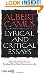 Lyrical and Critical Essays (Vintage...