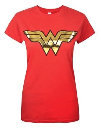 Official Wonder Woman Foil Women's T-Shirt (XXL)