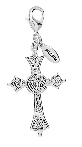 Pilgrim Women's Charms Pendant Brass Silver Plated 444647
