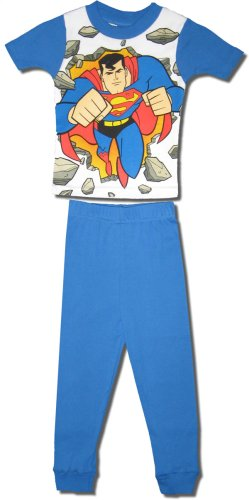 Buy Superman Boy's Cotton Short-sleeve, long-leg Pajamas – CLEARANCE PRICE