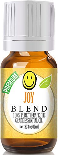 Joy-Blend-100-Pure-Best-Therapeutic-Grade-Essential-Oil-10ml-Bergamot-Geranium-Jasmine-Lemon-Mandarin-Palmarosa-Roman-Chamomile-Rose-Rosewood-Sweet-Orange-and-Ylang-Ylang-Comparable-to-Young-Livings-J