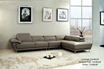 Pleasant Cheap 3Pc Contemporary Modern Sectional Leather Sofa Set Alphanode Cool Chair Designs And Ideas Alphanodeonline