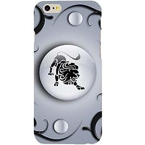 Casotec Leo Design Hard Back Case Cover for Apple iPhone 6 / 6S
