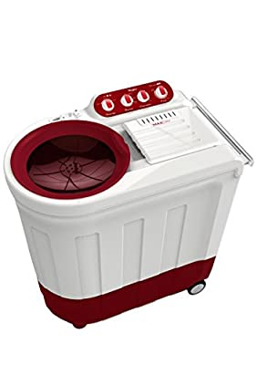 Whirlpool Ace 8.2 Royale Semi-automatic Top-loading Washing Machine (8.2 Kg, Coral Red)