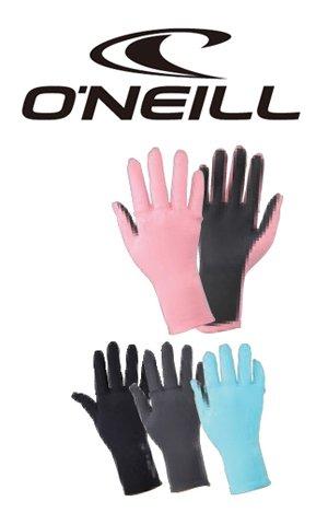 O'NEILL オニール レディース  グローブ AO-9030 UVカット 紫外線対策 日焼け防止 海 プール 海水浴 ダイビング UPF50 メッシュスキン surf サーフ サーフィン ボディーボード (DGY(グレー), F(フリー))