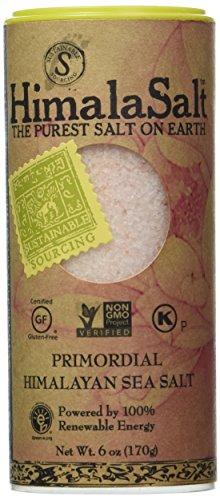 Himala Salt Primordial Himalayan Sea Salt, Fine Grain Shaker, 6 Ounce