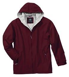 Charles River Apparel Unisex Adult Enterprise Jacket, Medium, Maroon