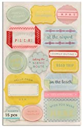 Martha Stewart Crafts Stickers Travel By The Package