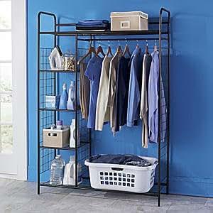 Amazon com ultimate organizer free standing portable closet system