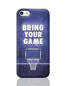 PosterGuy iPhone 5 / iPhone 5S Case Cover - Bring Your Game | Designed by: Arush Dev