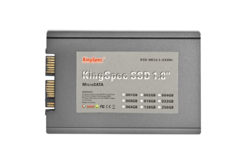 Kingspec Kingspec Micro-SATA 1.8 inch 64GB SSD