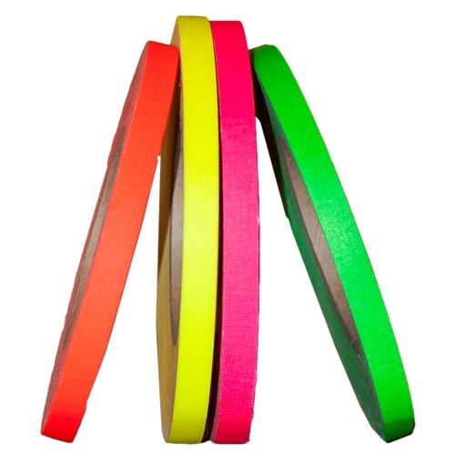 Devek Neon Spike Tape Rainbow Pack 1/2 Inch X 45 Yards