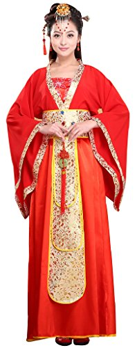 Chinese Style Stage Costume Women's&Girl's Princess Dresses Halloween Cosplay HanFu