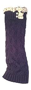 Women's Long Lace Crochet Boot Cover…