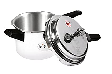 Bright-Flame-Aluminium-5-L-Pressure-Cooker-(Induction-Bottom,Outer-Lid)