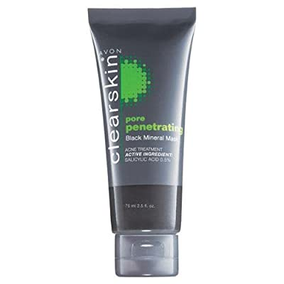 Avon Clearskin Pore Penetrating Black Mineral Mask 75 ml