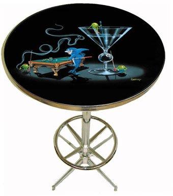 Michael Godard Pub Table - Pool Shark II
