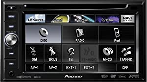 Pioneer AVIC-D3 In-Dash GPS Navigation System with DVD Player