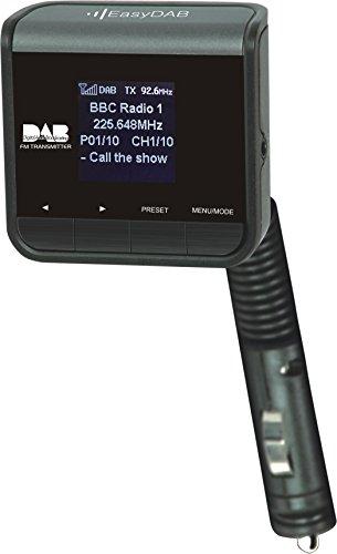 Veyron V-DAB + Universal Plug- und-Play ZeroPro-Feuerzeug DAB Radio Netzteil In-Auto