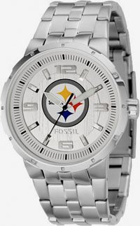 Fossil Pittsburgh Steelers Men's Logo Watch Size: One Size