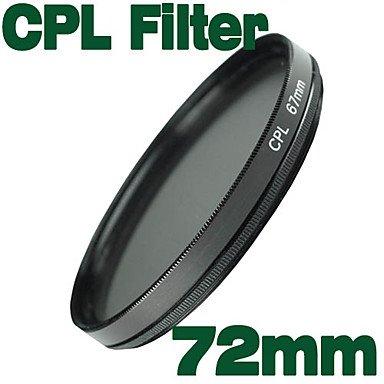Flash-Ddlemolux 72Mm Cpl Circular Polarizer Filter (Smq5598)