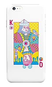 The Fappy Store King of Nothing, Queen plastic Back Cover for iphone 6 plus