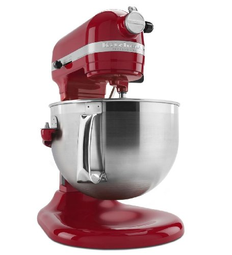 Kitchenaid Kp26n9xer 6-quart Stand Mixer Professional Lift Empire Red New Gift for Your Family