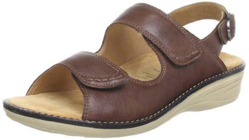 Ganter Hera, Weite H Sandals Womens Brown Braun (caffee 2100) Size: 5 (38 EU)