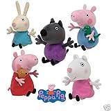 Peluche Ty - Peppa Pig - George - Rebecca - Suzy Danny Peppa Pig Serie