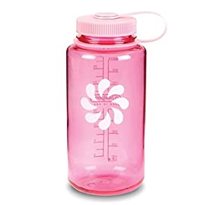 Nalgene BPA Free Tritan Wide Mouth Water Bottle, 1-Quart, Pink