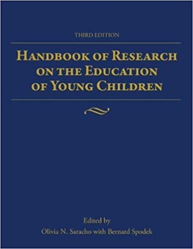 Book cover: handbook of research on the education of young children