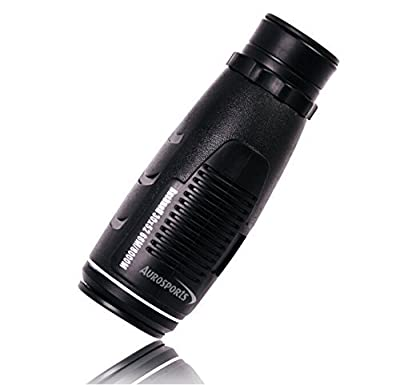 Aurosports Compact Pocket-Sized 30X52 High-Powered Monocular Telescope Binoculars by Aurosports
