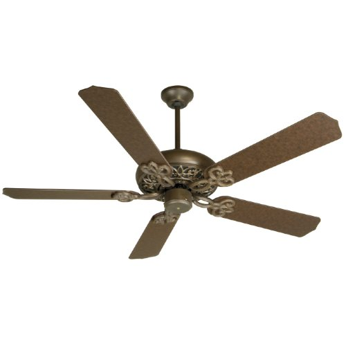 Craftmade Fans Cc52Ag Cecilia Energy Star Ceiling Fan, Aged Bronze Finish-Blades Sold Separately