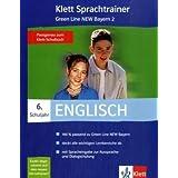 """Klett Sprachtrainer. Englisch. 6. Schuljahr. Green Line New 2. Bayern. CD-ROM f�r Windows 98Se/ME/NT/2000: Englisch als 1. Fremdsprache. Lehrwerkbegleitende Sch�lersoftware. Bayernvon """"Klett"""""""